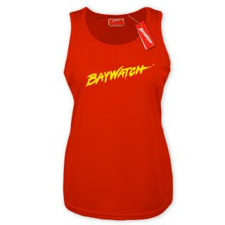 LADIES LICENSED BAYWATCH ® RED COOLTEX VEST